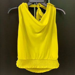 NWT Anthropologie Maeve Cowl Neck Tank Top